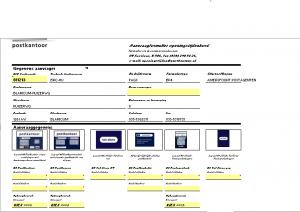 Voorbeeld zoals ik destijds een formulier maakte in Excel gekoppeld aan een database query