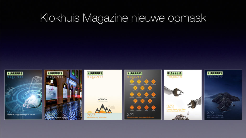 Digitale magazines van Stichting Klokhuis