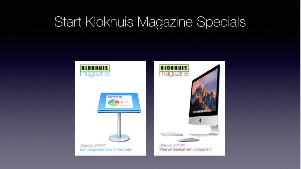 Klokhuis Magazine specials