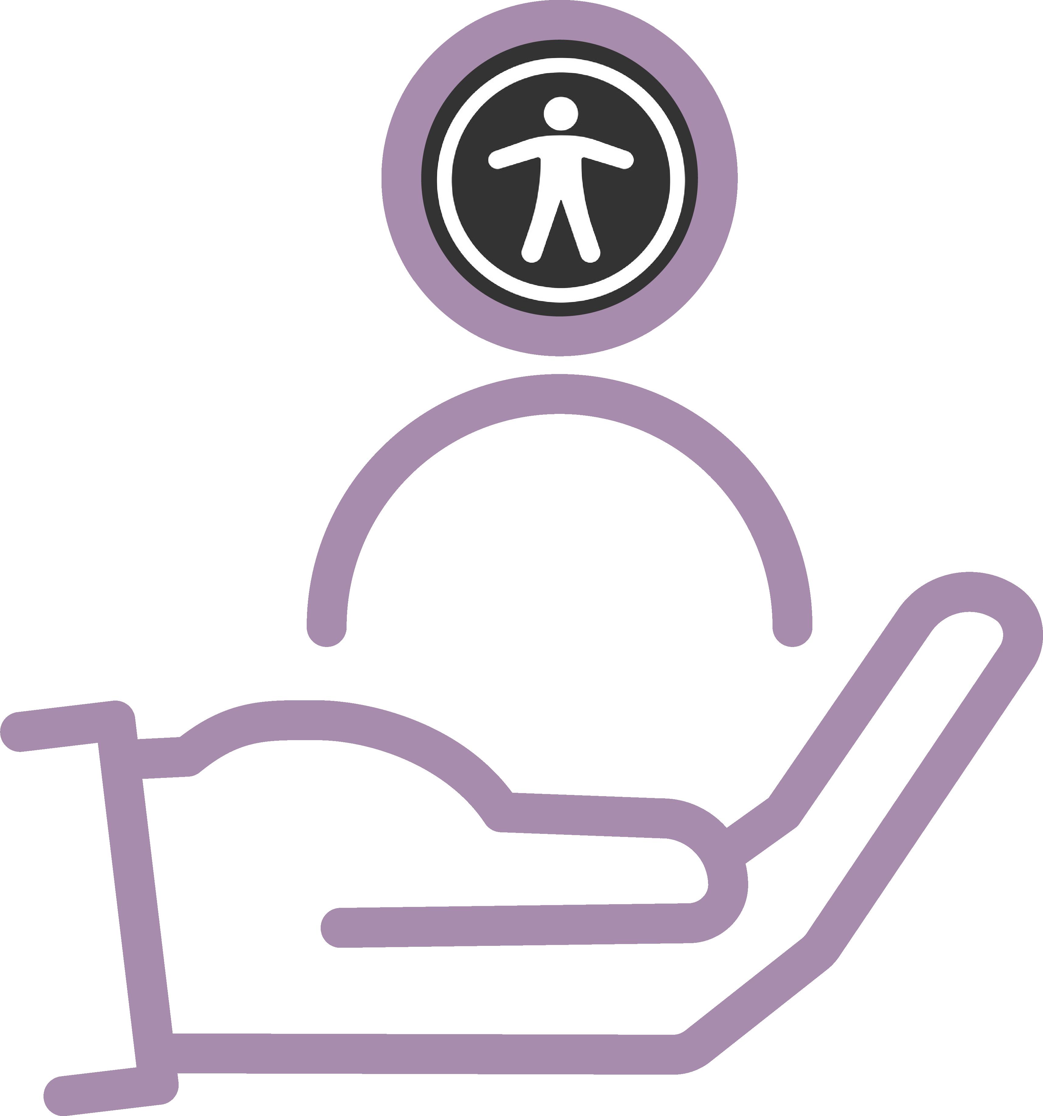 Hulp aan mensen met een visuele-, auditieve of motorische beperking