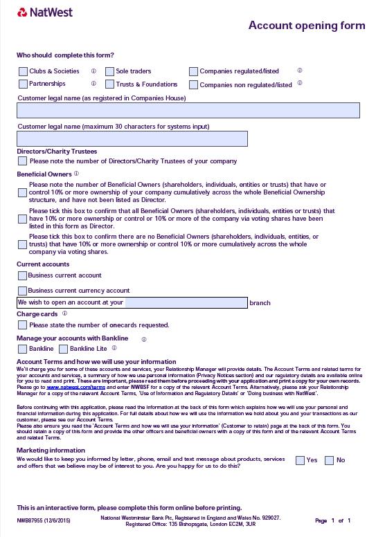 Slim formulier voor Royal Bank of Scotland, van 12 naar 1 formulier